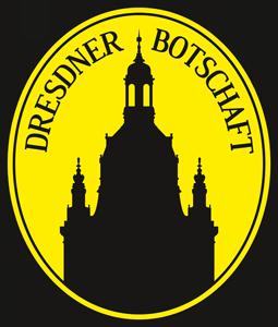 Logo der Dresdner Botschaft